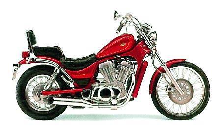 suzuki 750 intruder. 1991 Suzuki Intruder VS 700/